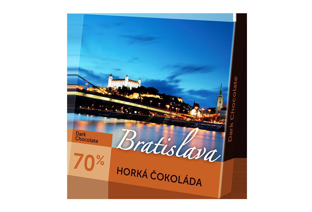 Bratislava – horká čokoláda 70%