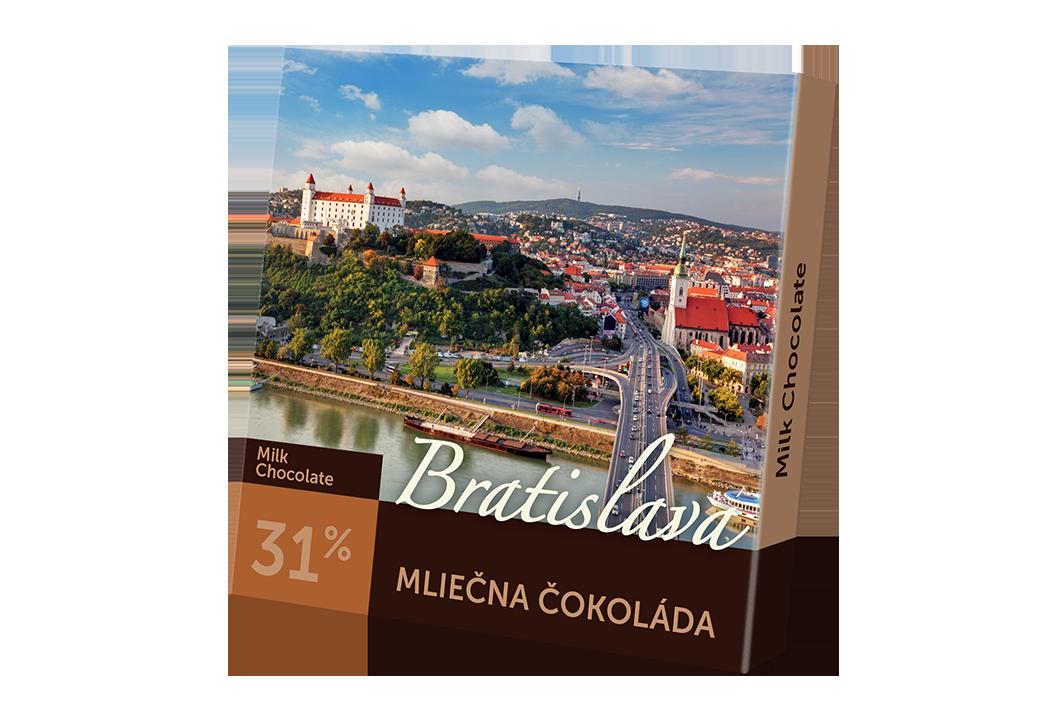 Bratislava – mliečna čokoláda