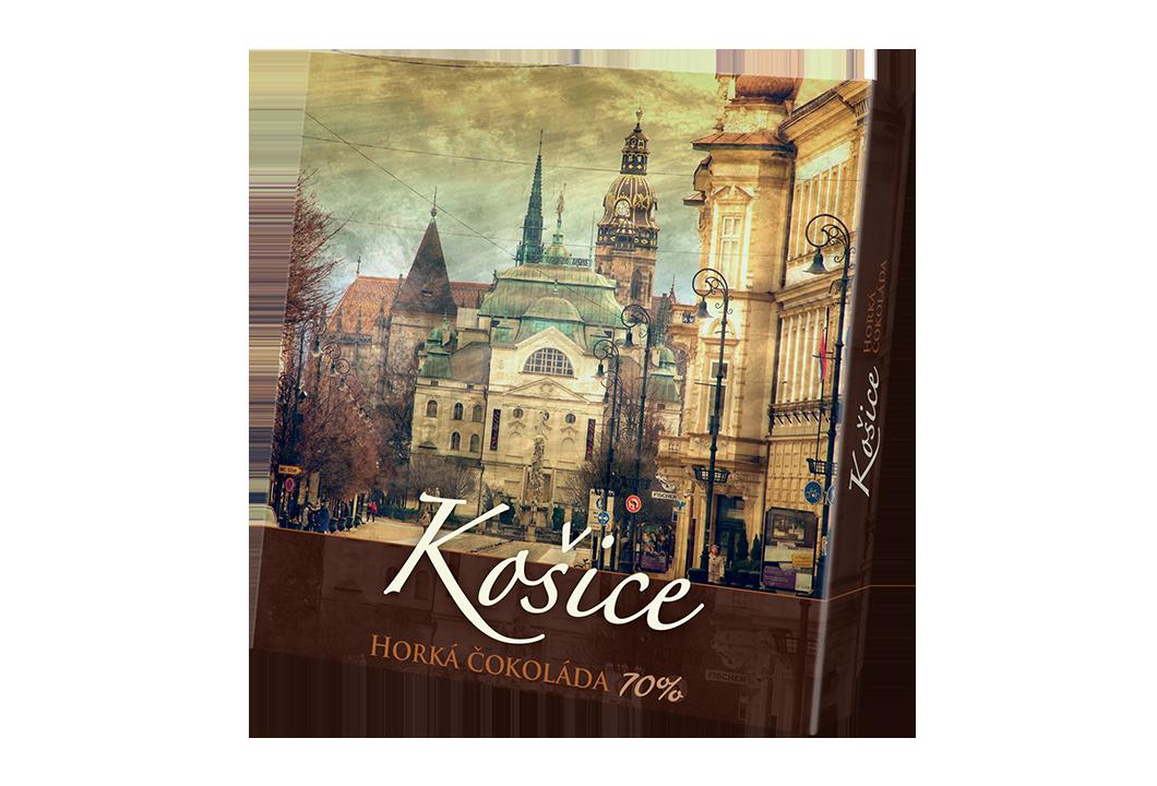 Košice – čokoláda horká 70%