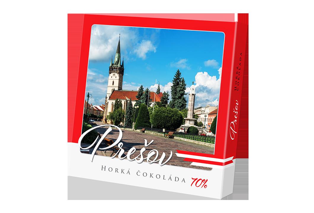 Prešov – čokoláda horká 70%