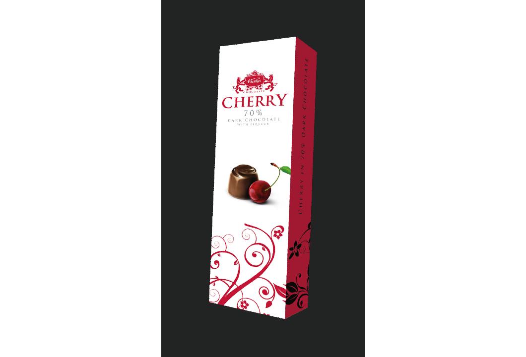 Cherry – višne v horkej čokoláde 70%