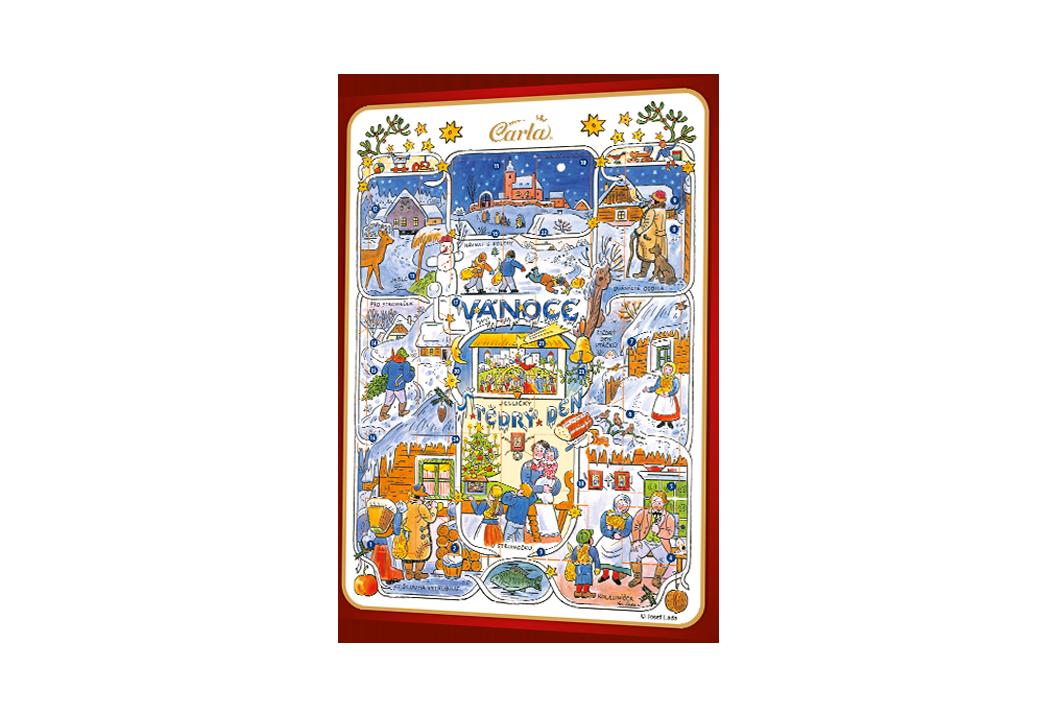 Adventný kalendár – Josef Lada